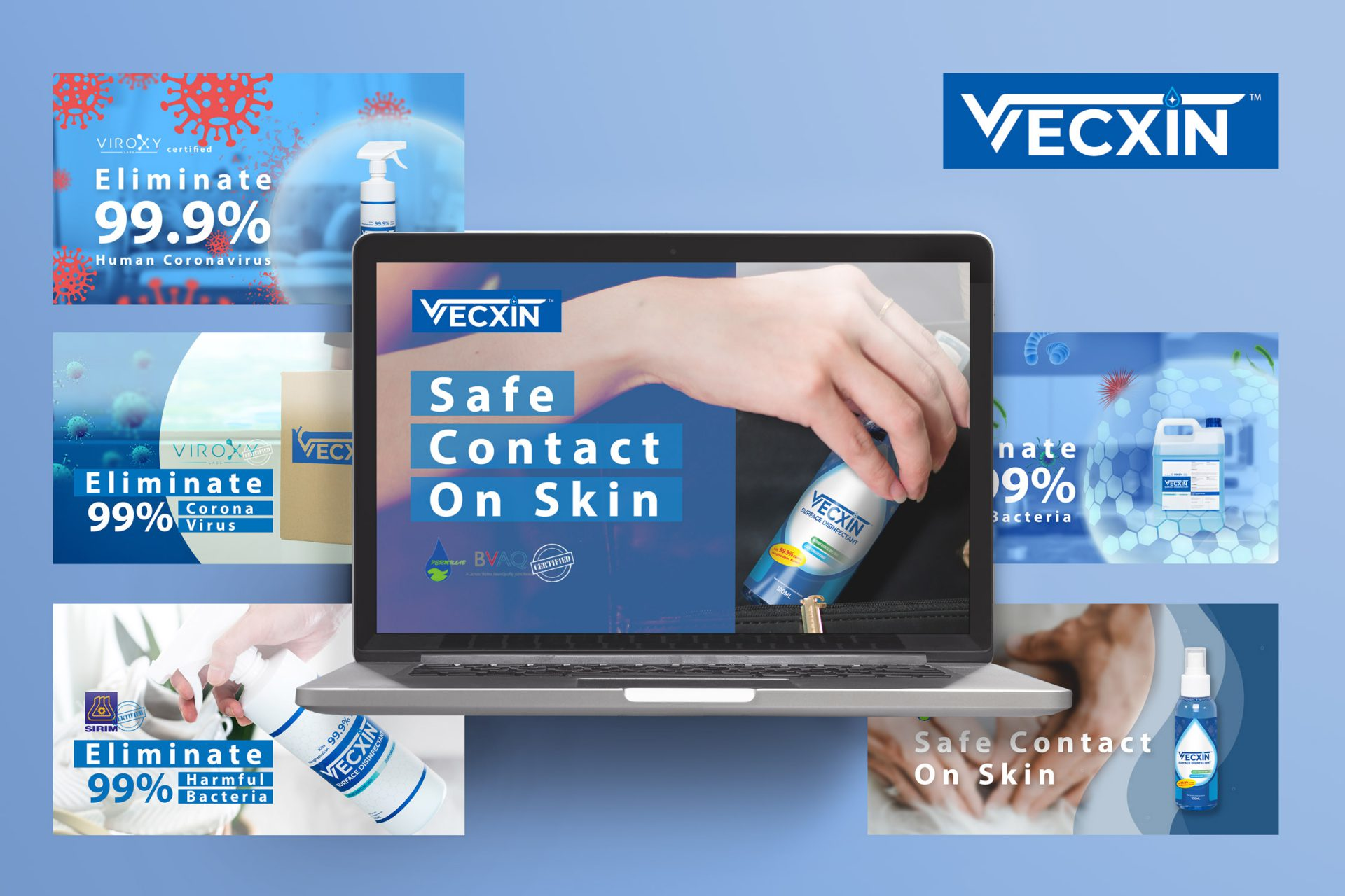 Surface Disinfectant – Vecxin
