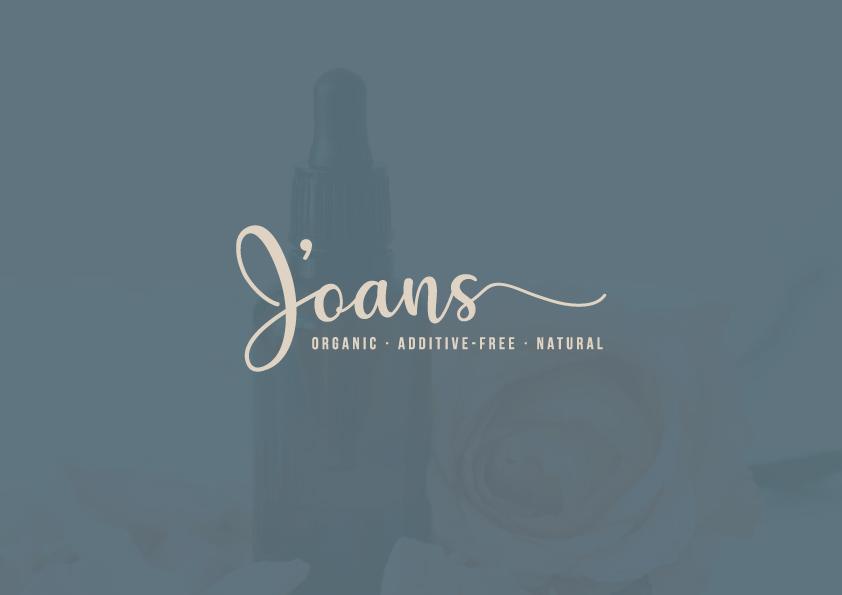 Essential Oil | Logo Design | J'oans Wellness