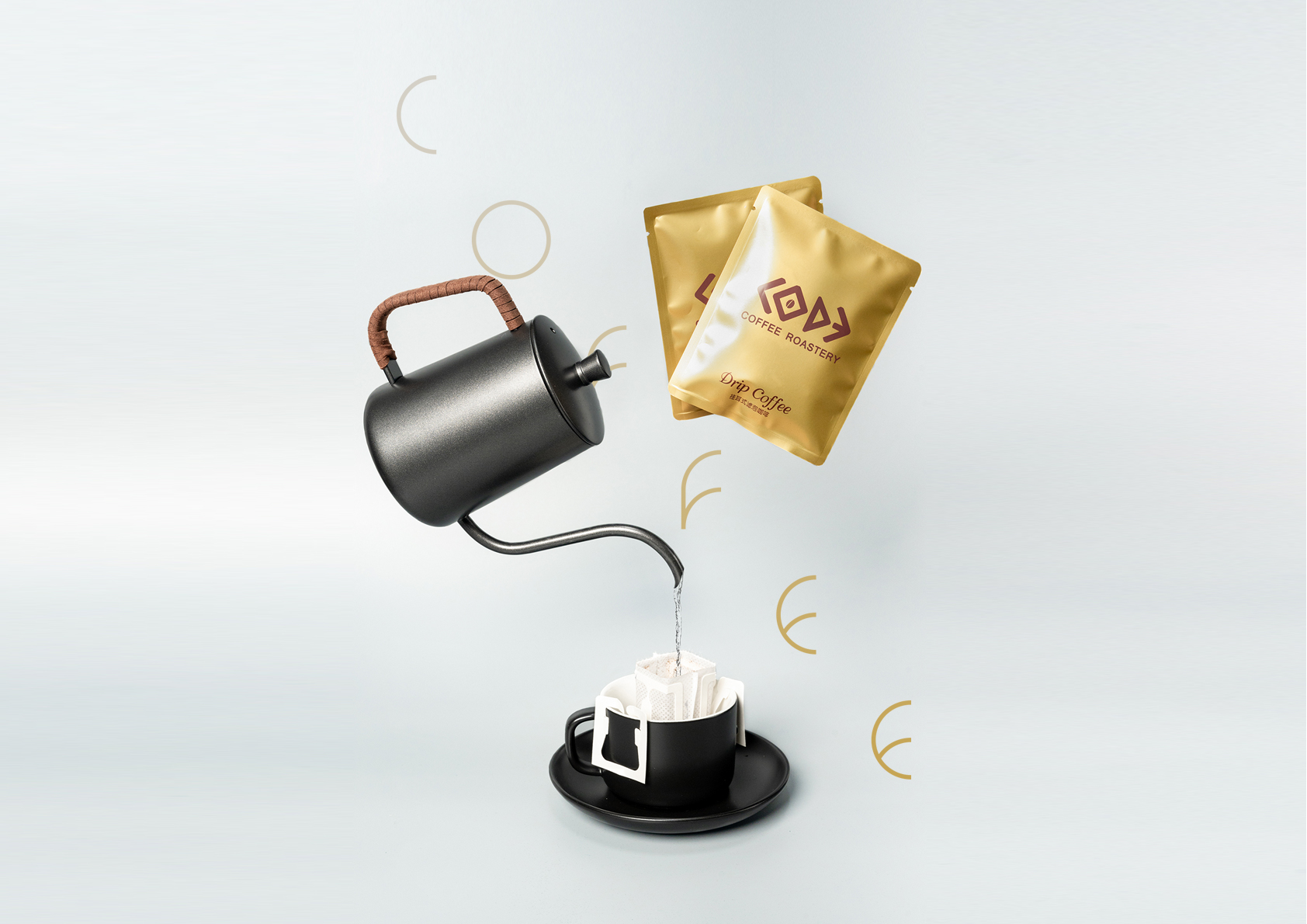 Paper Filter Coffee | Product Photography | The Coffee Code Roastery Workshop